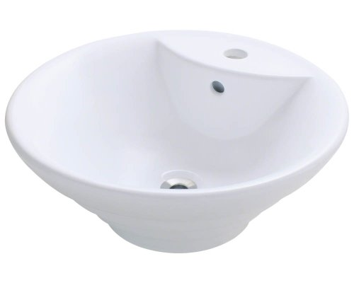 Polaris P022VW White Porcelain Vessel Sink