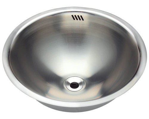 Polaris P024 Stainless Steel Undermount or Topmount Vanity Sink