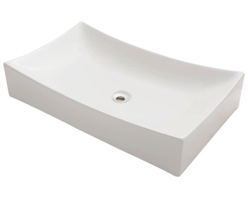 Polaris P033VB Bisque Porcelain Vessel Sink
