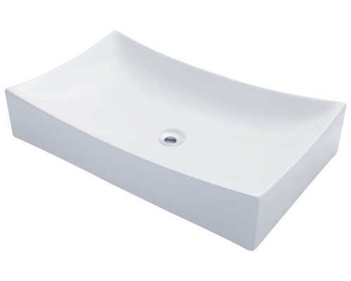 Polaris P033VW White Porcelain Vessel Sink