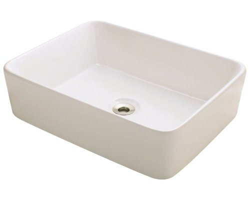 Polaris P041VB Bisque Porcelain Vessel Sink