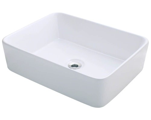 Polaris P041VW Whtie Porcelain Vessel Sink