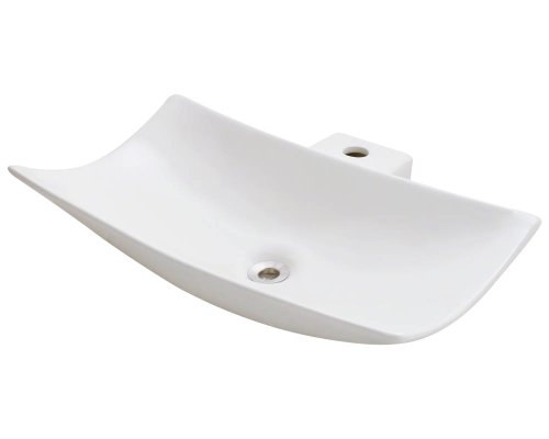 Polaris P042VB Bisque Porcelain Vessel Sink