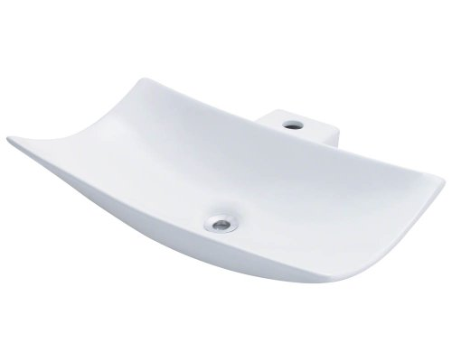 Polaris P042VW White Porcelain Vessel Sink
