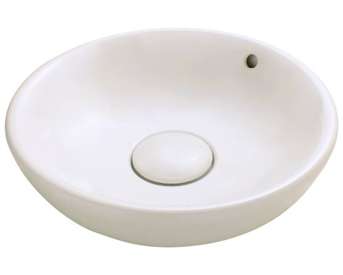 Polaris P043VB Bisque Porcelain Vessel Sink