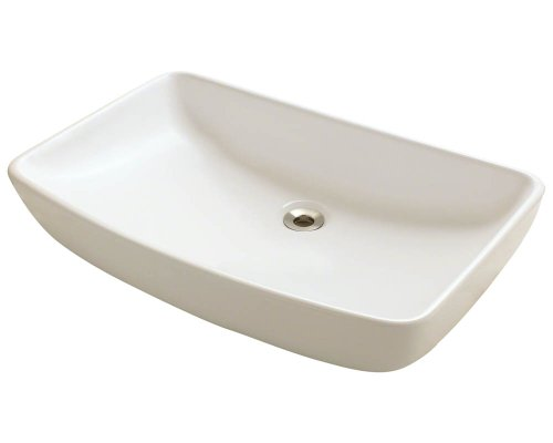 Polaris P053VB Bisque Porcelain Vessel Sink