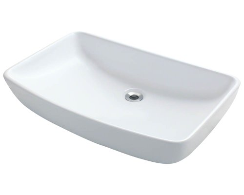 Polaris P053VW White Porcelain Vessel Sink