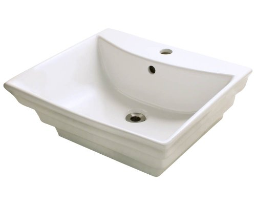 Polaris P061VB Bisque Porcelain Vessel Sink
