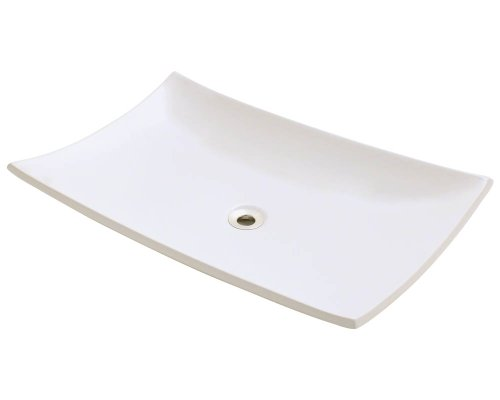 Polaris P063VB Bisque Porcelain Vessel Sink
