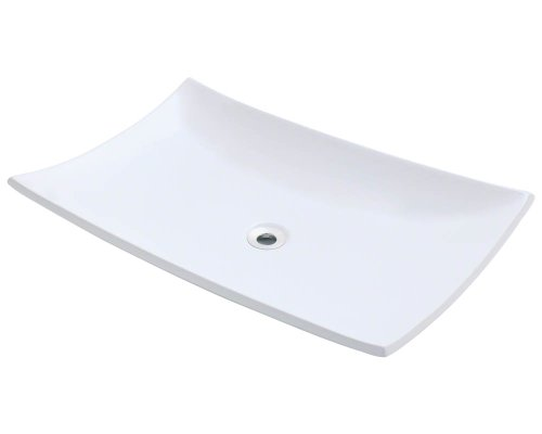 Polaris P063VW White Porcelain Vessel Sink