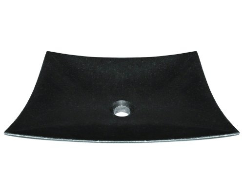 Polaris P068 Black Granite Vessel Sink