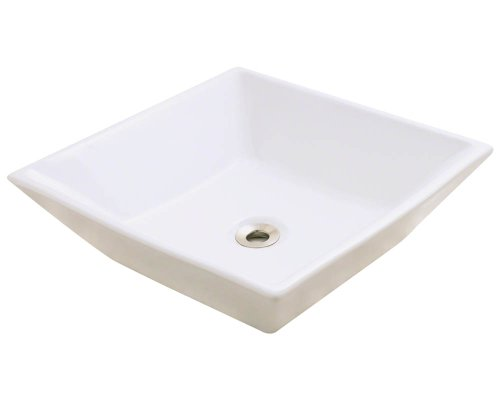 Polaris P071VB Bisque Porcelain Vessel Sink