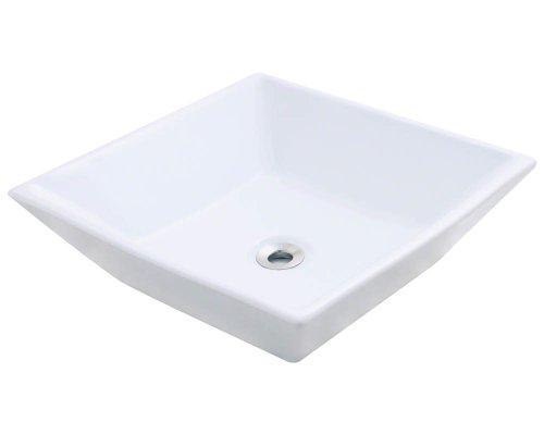 Polaris P071VW White Porcelain Vessel Sink