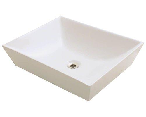Polaris P073VB Bisque Porcelain Vessel Sink