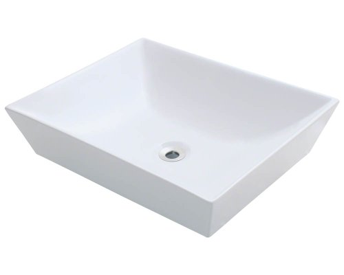 Polaris P073VW White Porcelain Vessel Sink