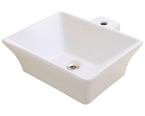 Polaris P092VB Bisque Porcelain Vessel Sink