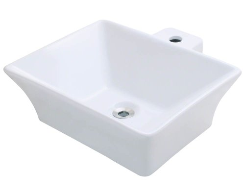 Polaris P092VW White Porcelain Vessel Sink