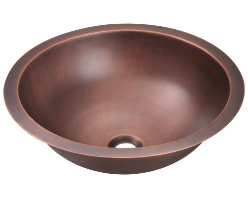 Polaris P229 Single Bowl Copper Bathroom Sink
