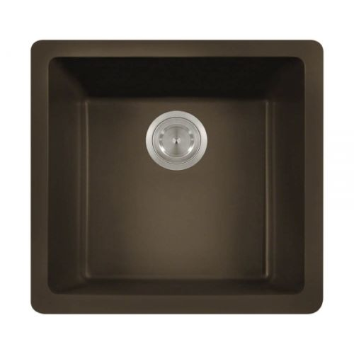 Polaris P508M Mocha Astragranite Single Bowl Kitchen Sink