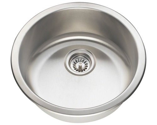 Polaris P564 Stainless Steel Round Bar Sink