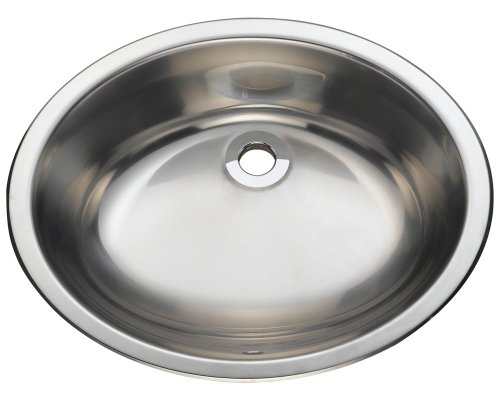 Polaris P7191 Stainless Steel Undermount or Topmount Vanity Sink