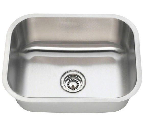 Polaris P8132 Single Bowl Stainless Steel Sink
