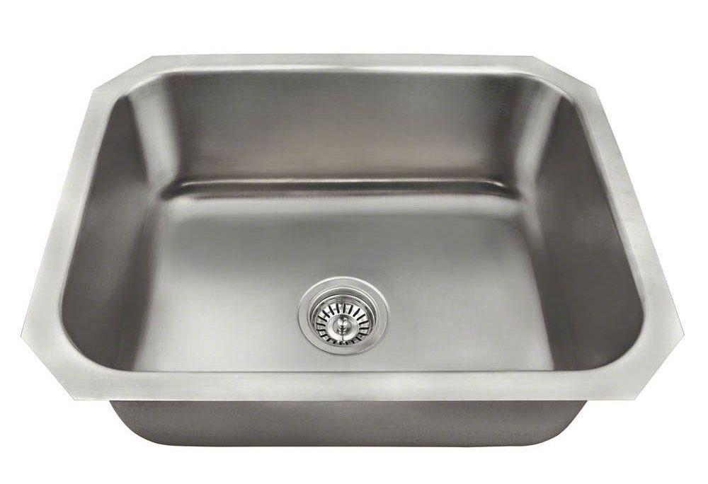 Polaris 8301US Single Bowl Stainless Steel Sink