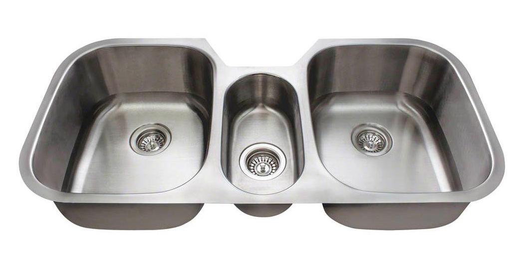 Polaris p1254 16-Gauge Single Bowl Stainless Steel Sink