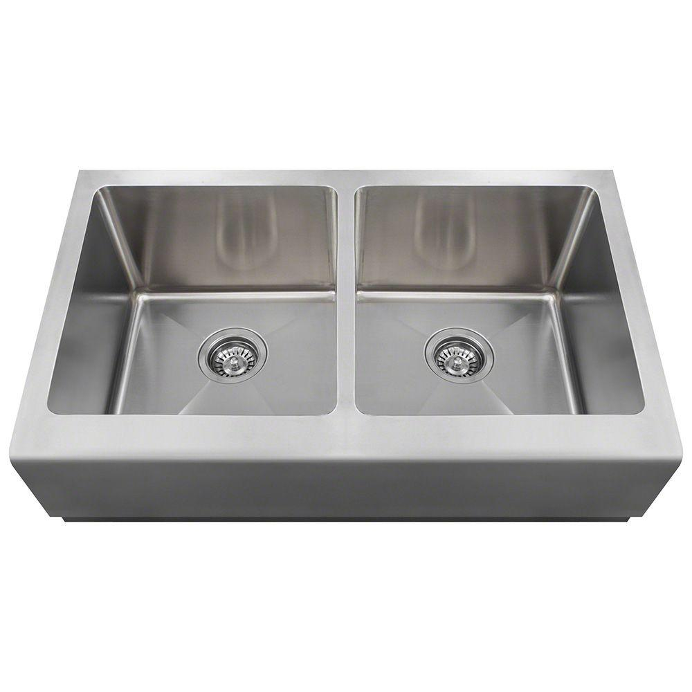 Polaris P604 Stainless Steel Apron Sink