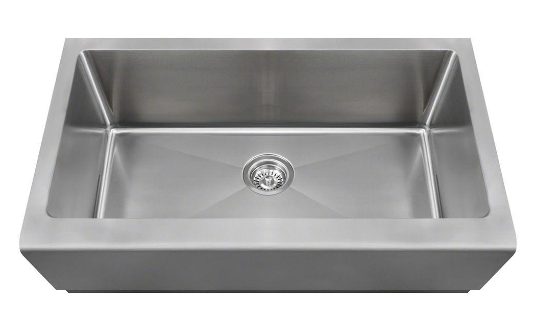 Polaris P504 Stainless Steel Apron Sink