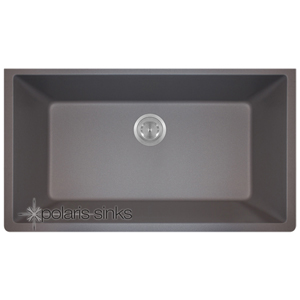 Polaris P848S Astragranite Large Single Bowl Sink