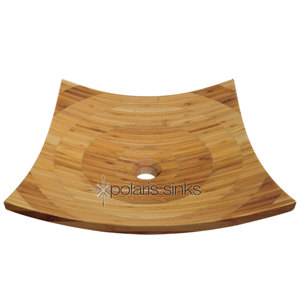 Polaris p298 Bamboo Vessel Bathroom Sink