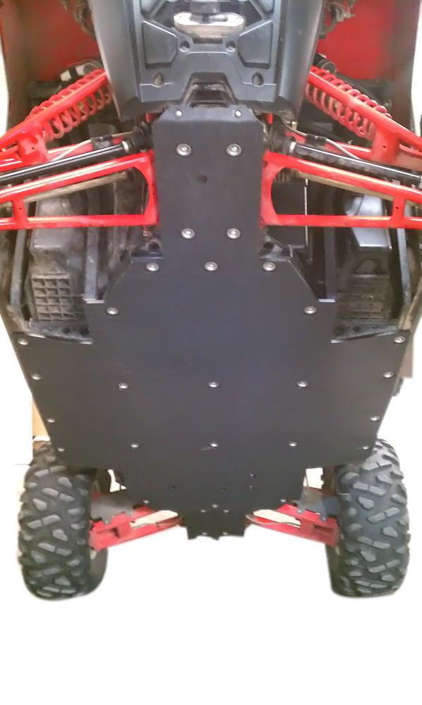 800 RZR S UHMW skid plate