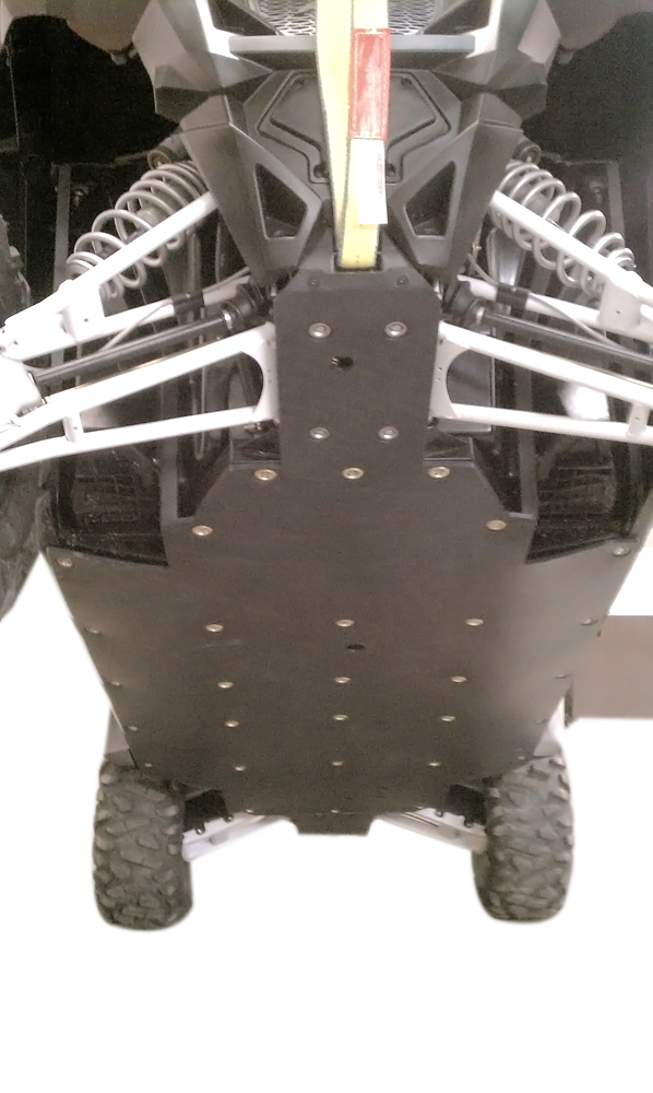 800 RZR 4 UHMW skid plate