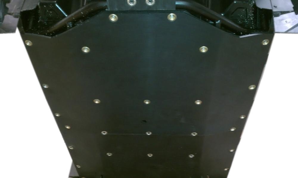 900 RZR XP 4 UHMW skid plate