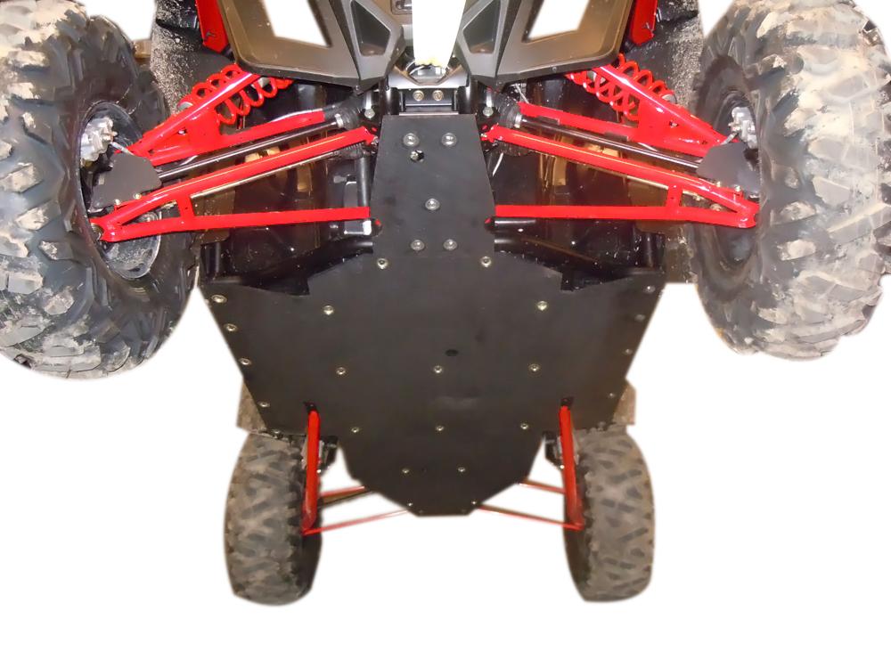 RZR XP 900 UHMW Skid Plate