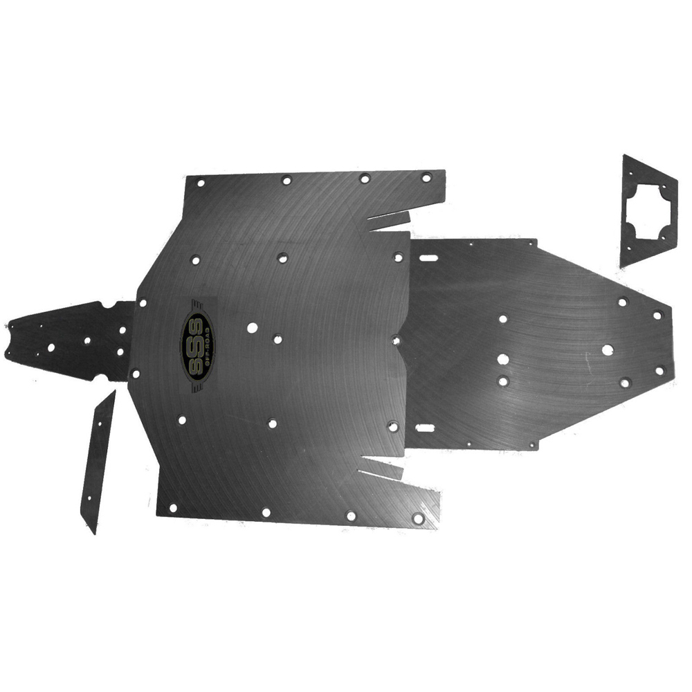 Polaris RZR 900 XP UHMW skid plate underbody SSS Off Road