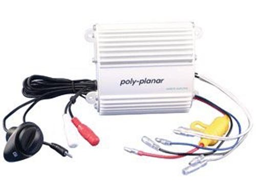 Amplifier, Ploy Planar, 2 Channel, 50 Watt w/Separate Speaker Volume Control