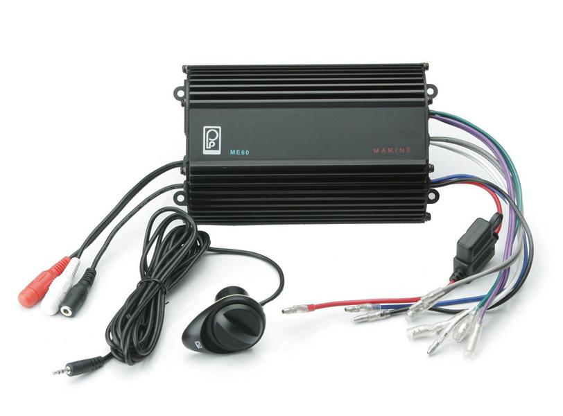 Amplifier, Ploy Planar, 4 Channel, 120 Watt w/Separate Speaker Volume Control