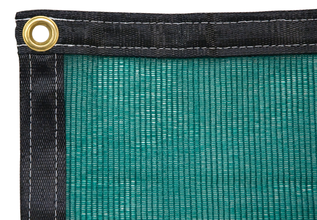Green Shade Cloth 8' x 8'
