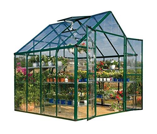 Palram Snap & Grow 8' x 8' Hobby Greenhouse - Green