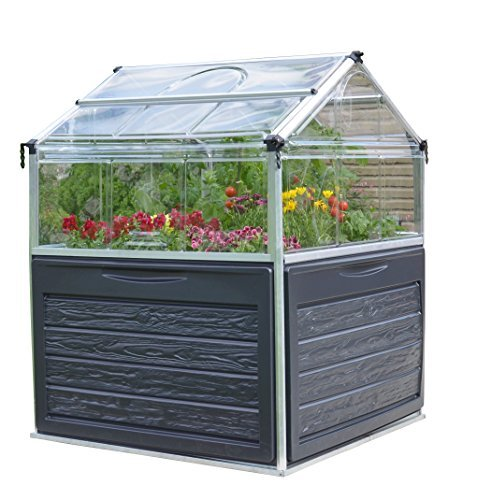Plant Inn Raised Garden Bed Greenhouse