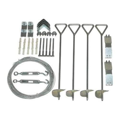 Greenhouse Cable Anchor Kit for Snap & Grow greenhouses