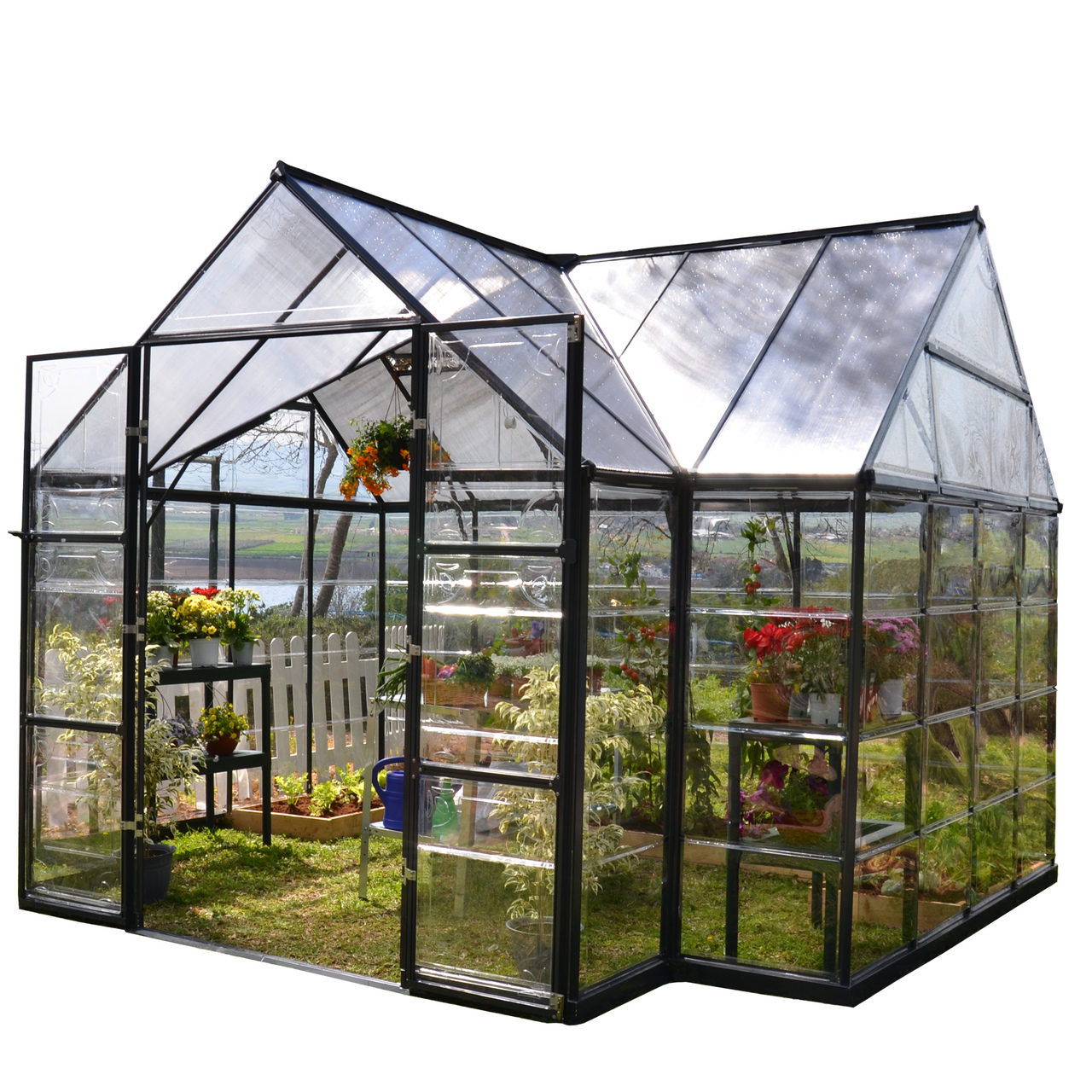 Chalet Greenhouse Kit