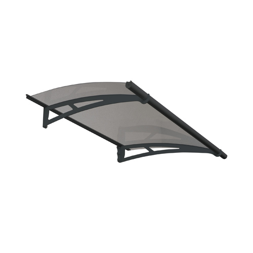 Aquila 1500 Door Awning, Grey