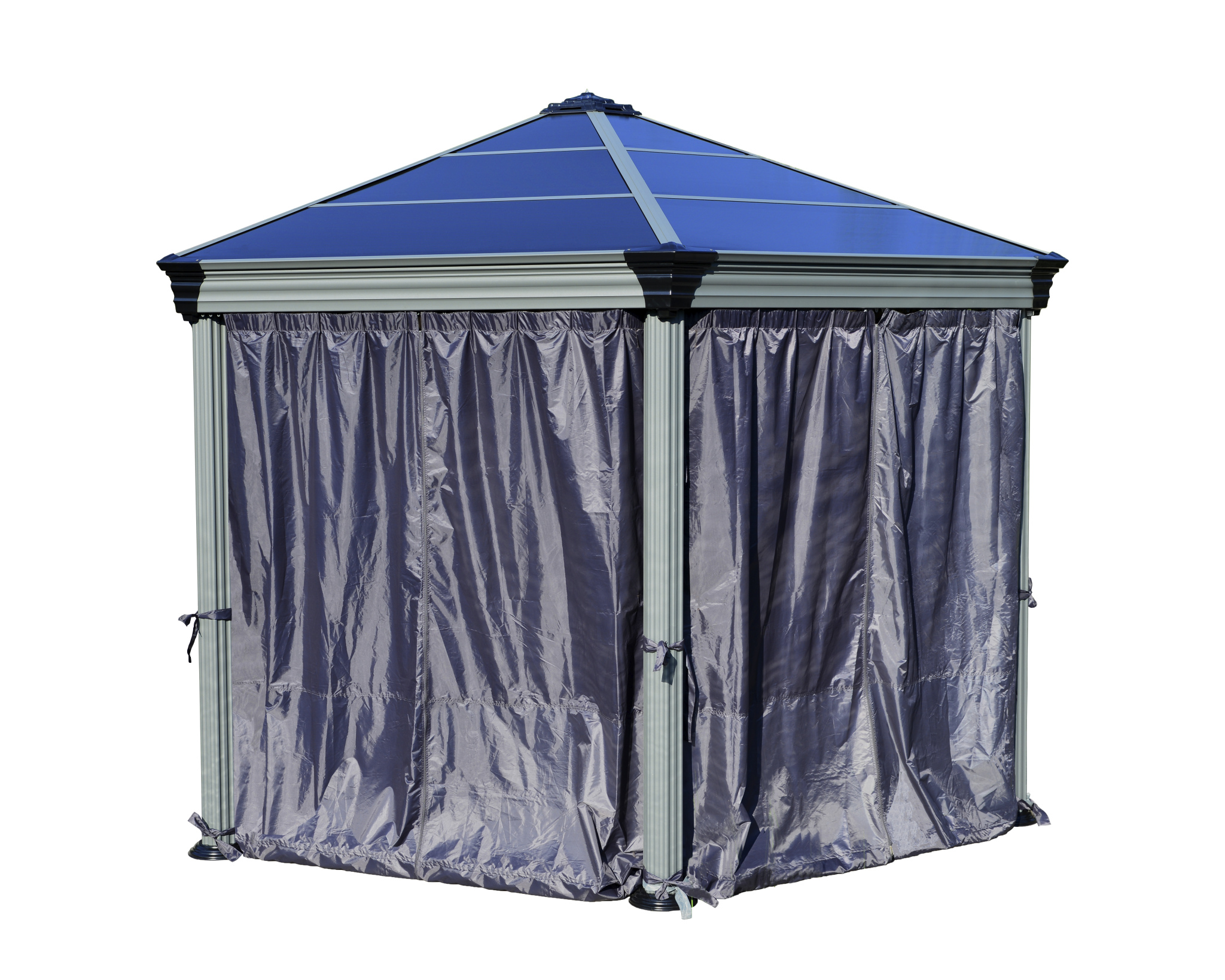 Roma Gazebo Curtain set - 6 Piece