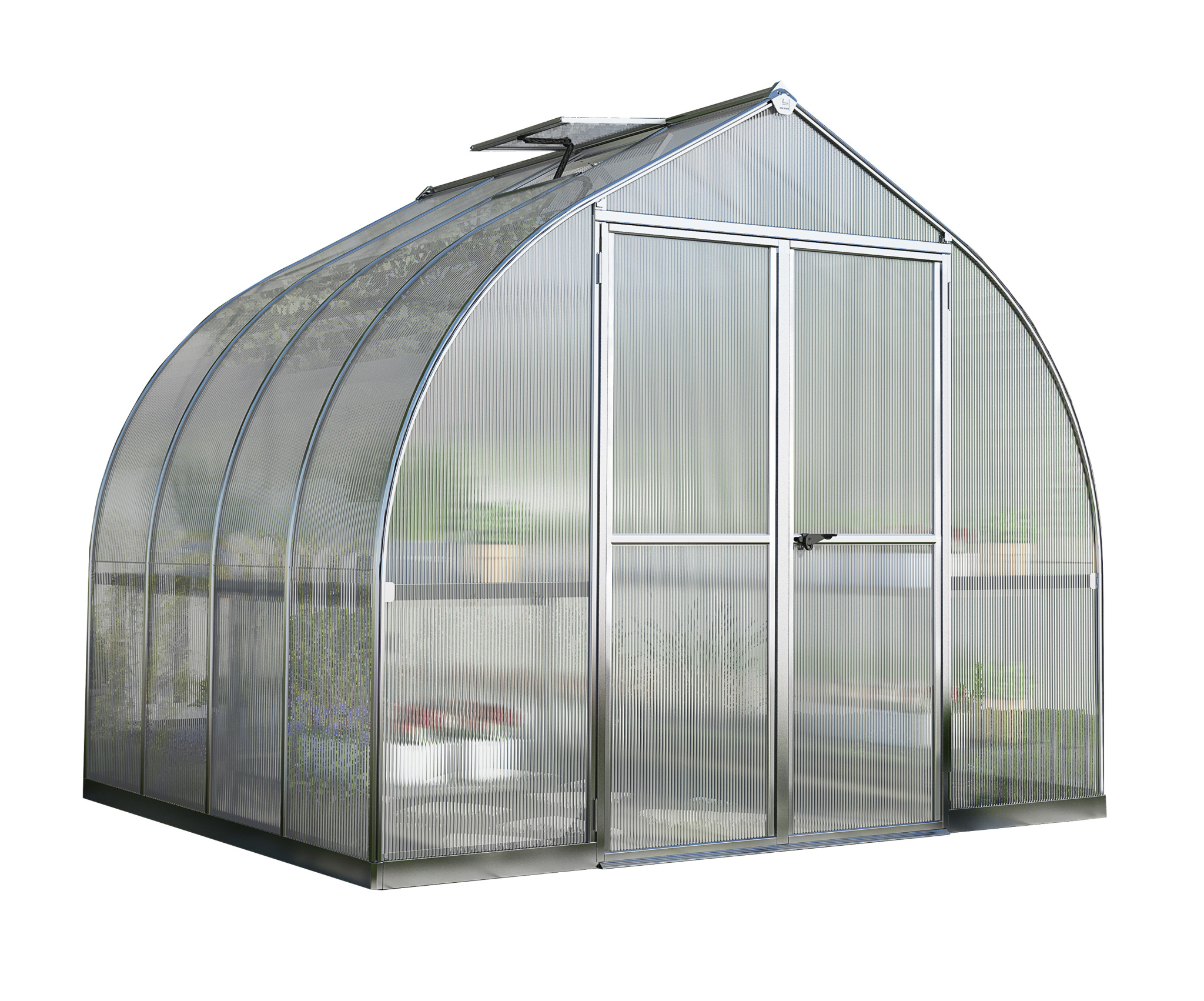 Bella 8' x 8' Greenhouse