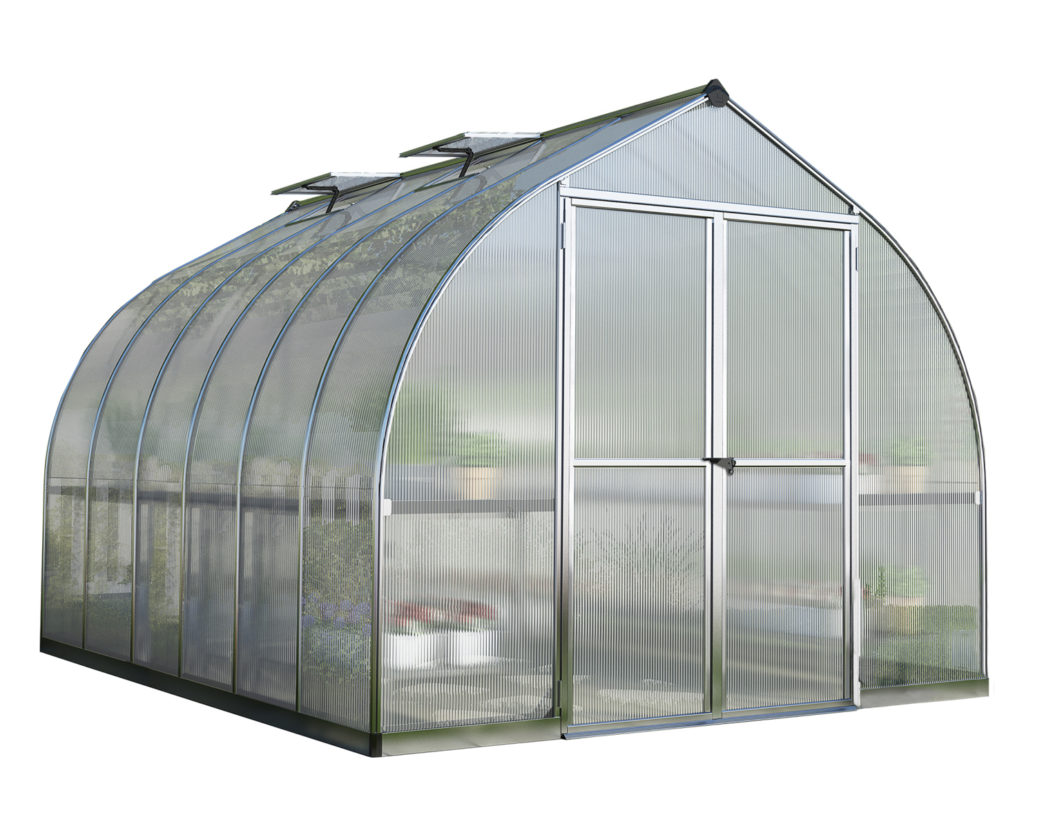 Bella 8' x 12' Greenhouse