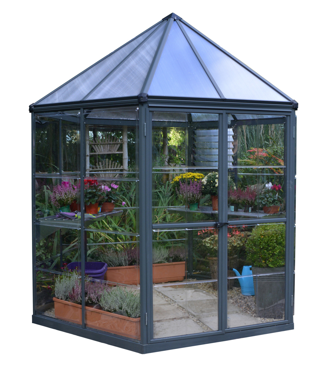Oasis Hex 7' x 8' Greenhouse