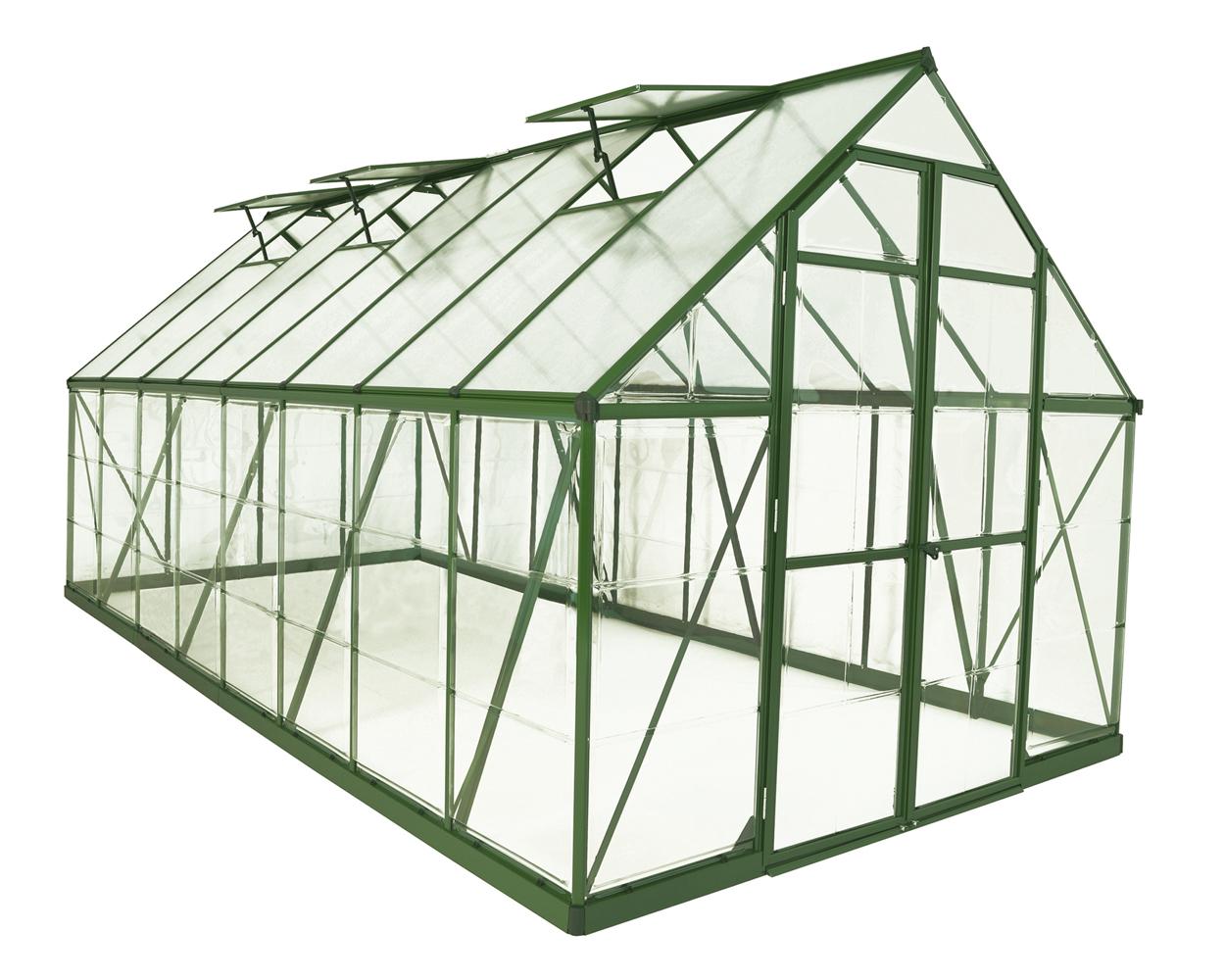 Balance 8' x 16' Greenhouse